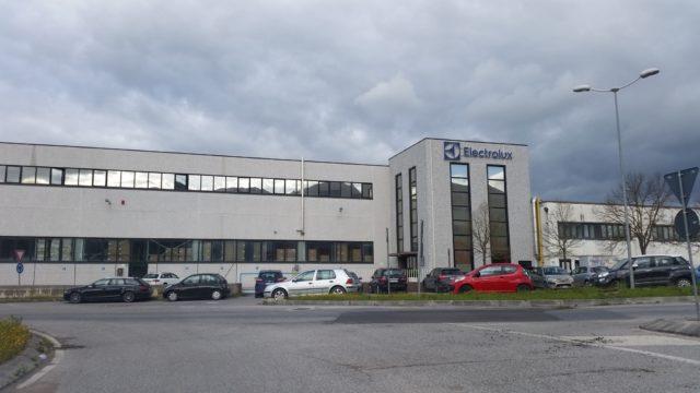 La sede della Electrolux a Cerreto D'Esi
