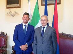 Maurizio Mangialardi e Antonio D'Acunto