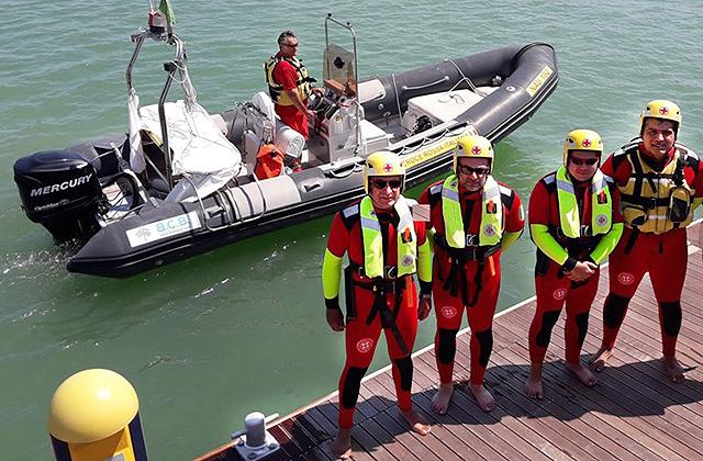 Nuove mute per il soccorso in mare degli operatori opsa della Croce Rossa di Senigallia