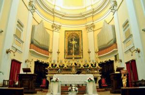 L'organo Mascioni della chiesa di san Francesco a Corinaldo