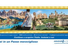 Il pannello di Autostrade per l'Italia in cui compare la Rocca roveresca di Senigallia
