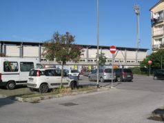 Un tratto del parcheggio di via Campo Boario a Senigallia