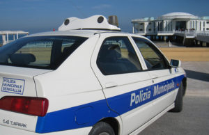 La Polizia Municipale a Senigallia