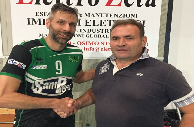Colpaccio Nova Volley, arriva Simone Spescha