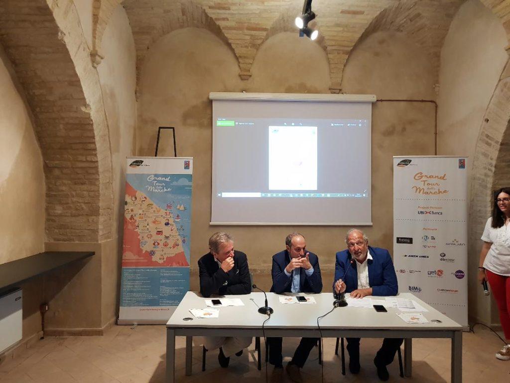 Da sinistra Giovanni Di Battista, Paolo Calcinaro e Angelo Serri
