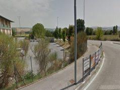 Via Valche, Jesi, la zona del ipotetico nuovo distributore di carburanti