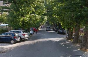 Un tratto di viale IV Novembre a Senigallia