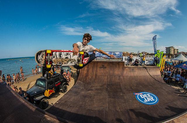Lo skate park agli XMasters di Senigallia