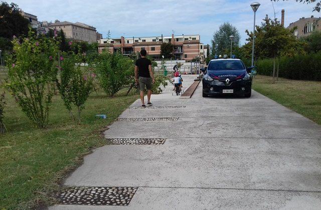 carabinieri parco vallato