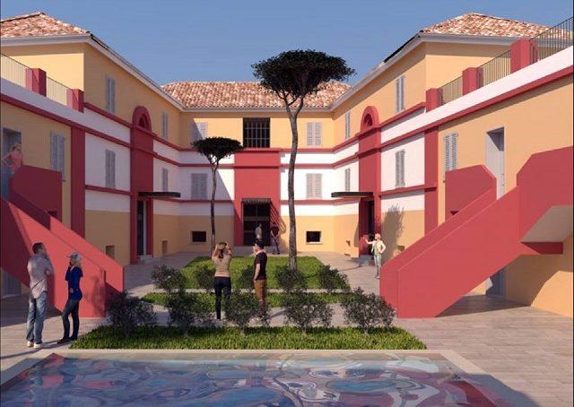 Uno dei progetti di riqualificazione del quartiere Archi ad Ancona