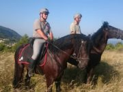 Carabinieri Forestali a Cavallo sul Monte Conero