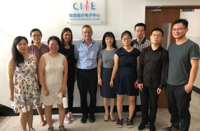 Il team cinese coinvolto nel progetto con Univmc