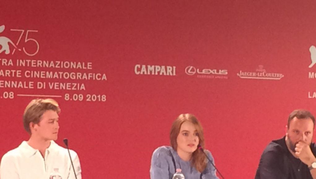 Emma Stone in conferenza stampa