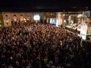 Il Foro annonario di Senigallia durante un concerto del Summer Jamboree. Foto di Mattia Mancini