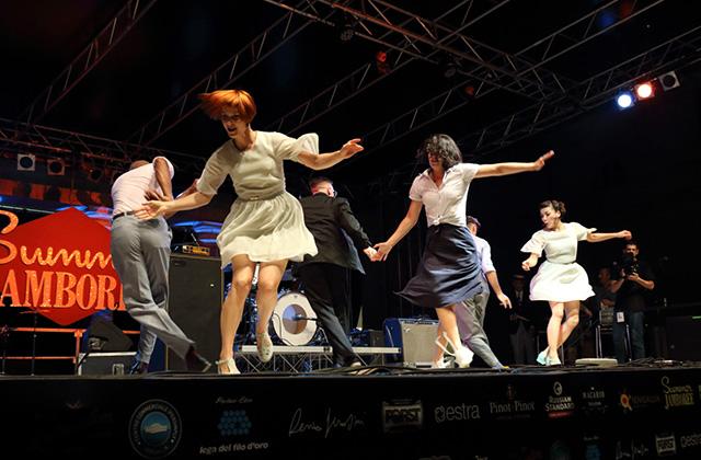 Dance show al Summer Jamboree di Senigallia. Foto di Salvatore Liotti