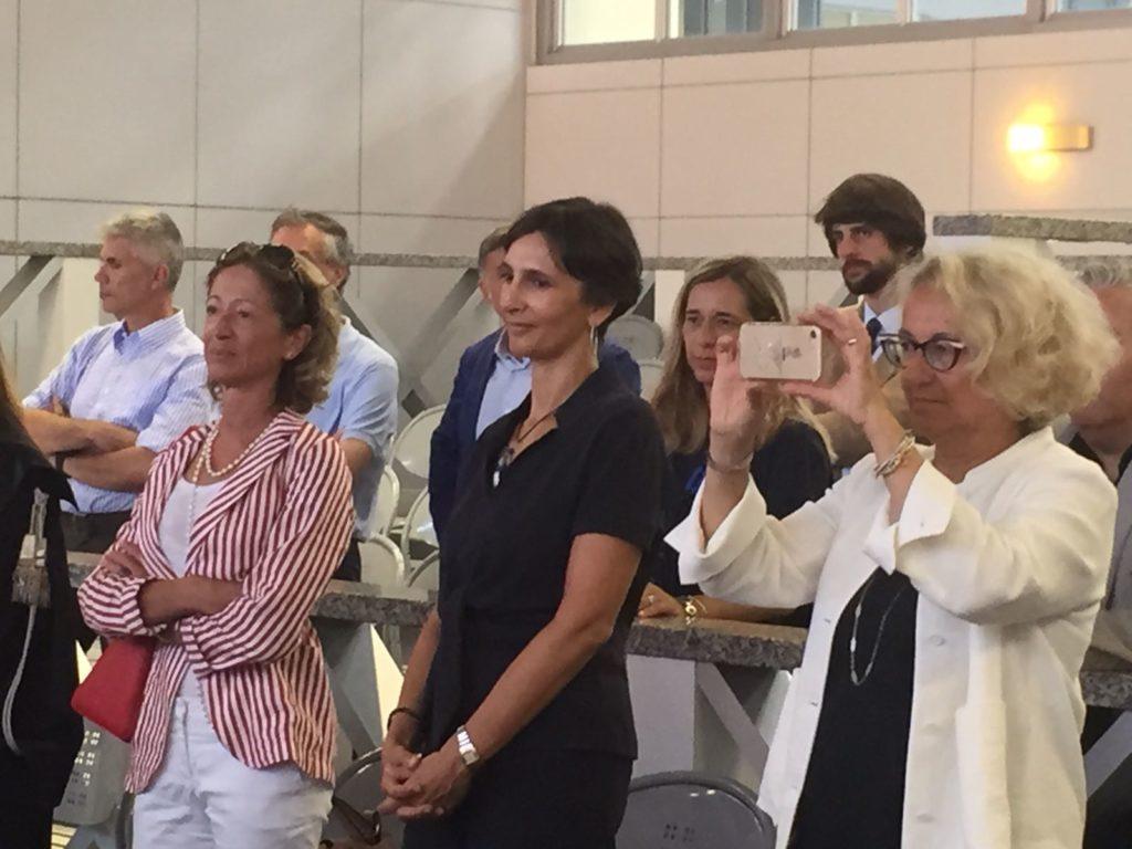 Il procuratore capo di Pesaro Cristina Tedeschini e il nuovo procuratore aggiunto di Ancona Valentina D'Agostino