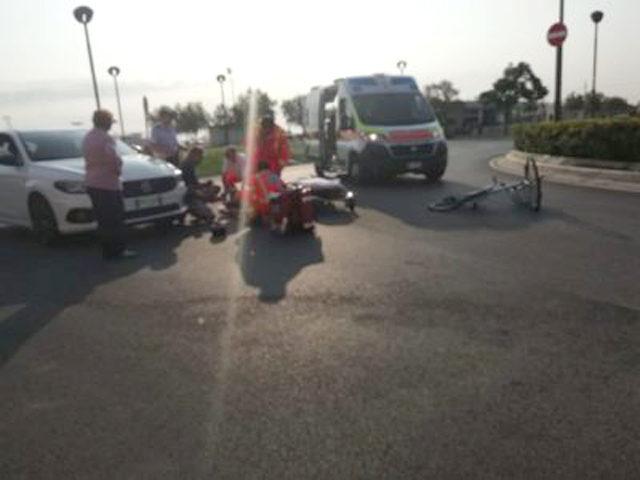 L'incidente nei pressi della Rotonda