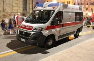 L'ambulanza della Croce Rossa di Senigallia presente al Summer Jamboree 2018