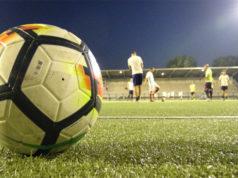 calcio, allenamenti allo stadio Bianchelli di Senigallia