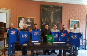 L'arcivescovo Angelo Spina con i responsabili della pastorale giovanile della metropolia di Ancona