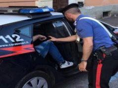 Un arresto dei carabinieri di Falconara