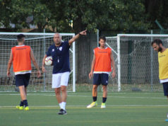 Massimiliano Guiducci conduce gli allenamenti dell'Fc Vigor Senigallia