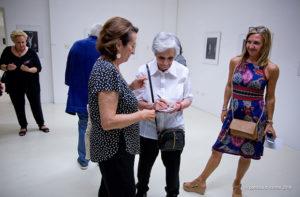 L'inaugurazione della mostra di Emanuela Sforza al museo De' Nobili di Trecastelli