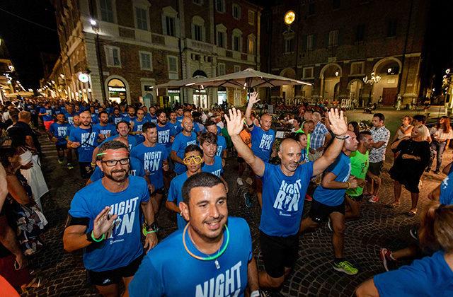 NightRun, a Senigallia la corsa in notturna