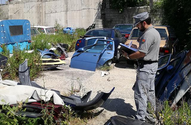 Falso meccanico denunciato dai Carabinieri Forestali ad Arcevia: sanzioni per 50mila euro