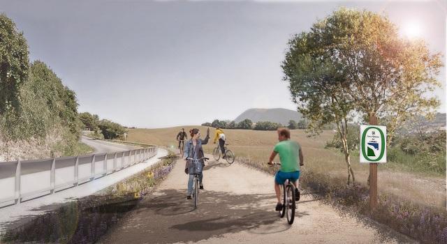 Da Pietralacroce a Portonovo in biciletta: passi in avanti per la Biciclovia del Conero