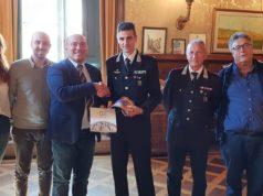 Il colonnello in municipio a Osimo accolto dalla giunta