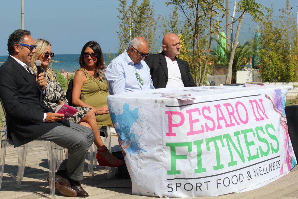 La conferenza stampa di presentazione di Pesaro in Fitness