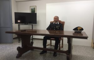 Il maggiore Luigi Ciccarelli