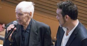 Peppino Principe con il sindaco Roberto Ascani