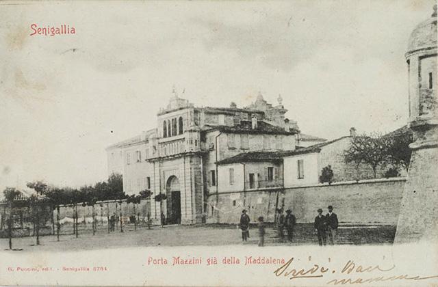 Porta Mazzini a Senigallia, agli inizi del '900