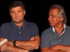 Biagini e Mecella (allenatore e presidente dell'Argignano calcio)