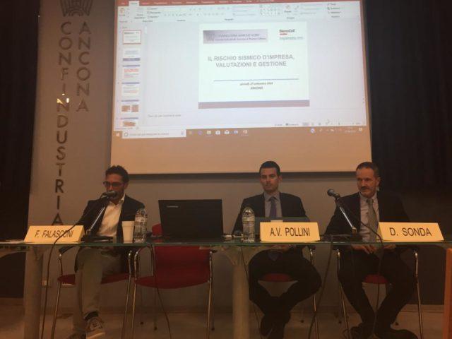 Un momento del seminario che si è svolto in Ancona organizzato da Confindustria Marche Nord