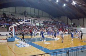 La partita Fabriano-Montegranaro