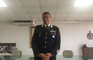 Il comandante Stefano Caporossi