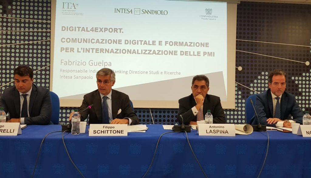 Diego Mingarelli, Filippo Schittone, Antonino Laspina e Tino Nocentini