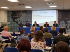 """Un momento della presentazione del corso """"digital4export"""" che si è tenuto ad Ancona"""