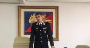 Cristian Carrozza, colonnello, nuovo comandante provinciale dei carabinieri