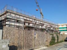 I lavori di riqualificazione dell'ex arena Italia a Senigallia