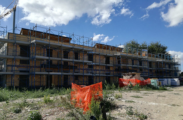 co-housing e autocostruzione: il cantiere alla Cesanella di Senigallia