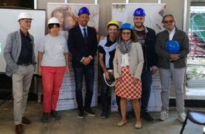 la presentazione del progetto di co-housing e autocostruzione a Senigallia