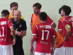 Il mister del Corinaldo Calcio a 5, Davide Gurini