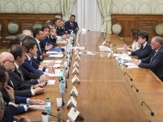 La delegazione Anci all'incontro con il premier Conte sui fondi per il bando periferie