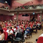 """Sala gremita al cinema Gabbiano per la proiezione del film """"Sulla mia pelle"""""""