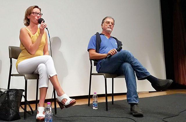 Ilaria Cucchi e Fabio Anselmo