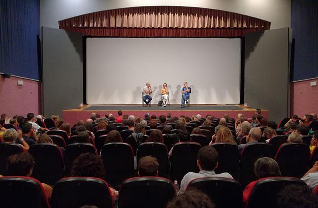 La presentazione al cinema Gabbiano di Senigallia del film